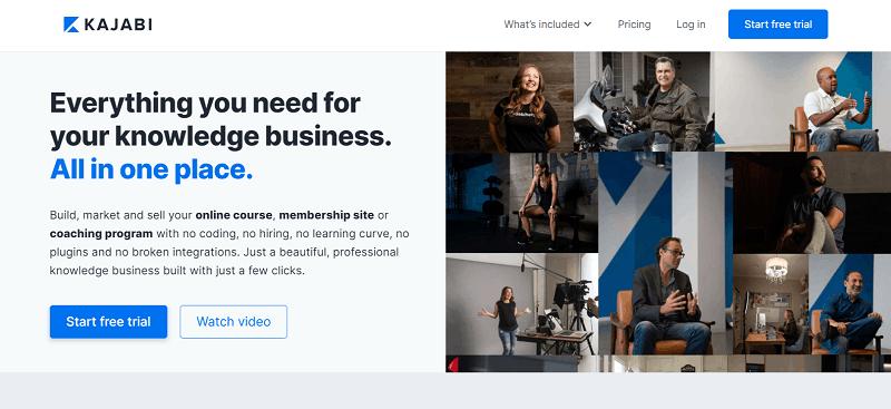 Kajabi Course Creator Platform