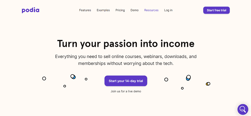 Podia Online Course Creator