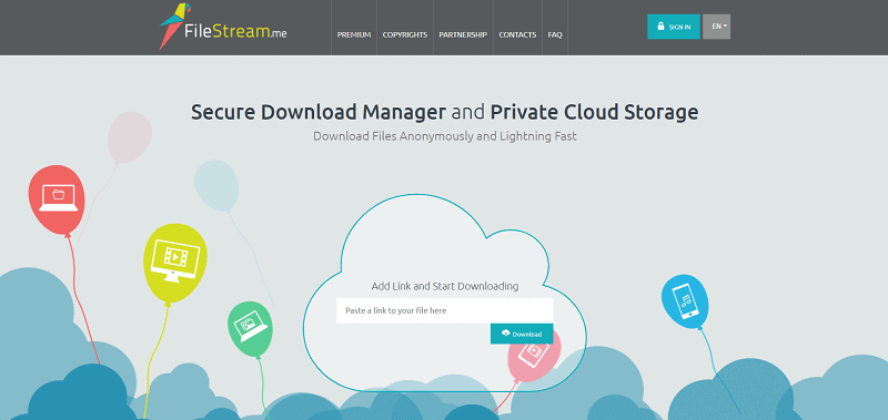 FileStream Downloader
